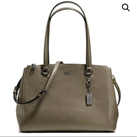 2c8f1528bd Coach Handbags - Coach Crossgrain Leather Uptown Stanton Carryall